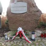 Kamień pamięci Piotra Mocka