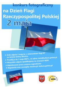Plakat na święto flagi