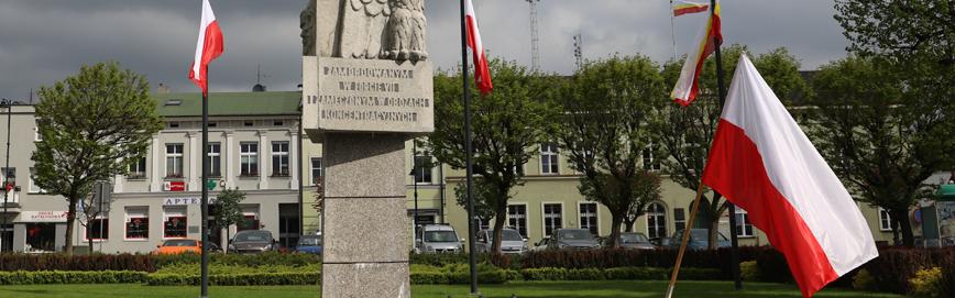 Pomnik na placu 20 października w Mosinie