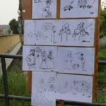 Tablica z rysunkami