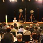 Przemawia dyrektor Mosińskiego Ośrodka Kultury